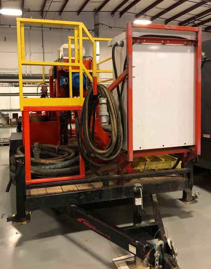 Swaco CD 250 oilfield decanter centrifuge, 316SS.