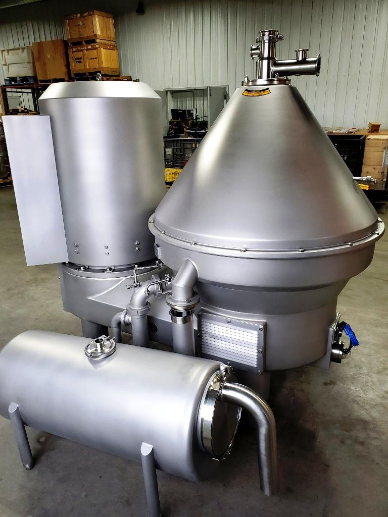 Westfalia MSD 300-01-777 warm milk separator, 316SS.