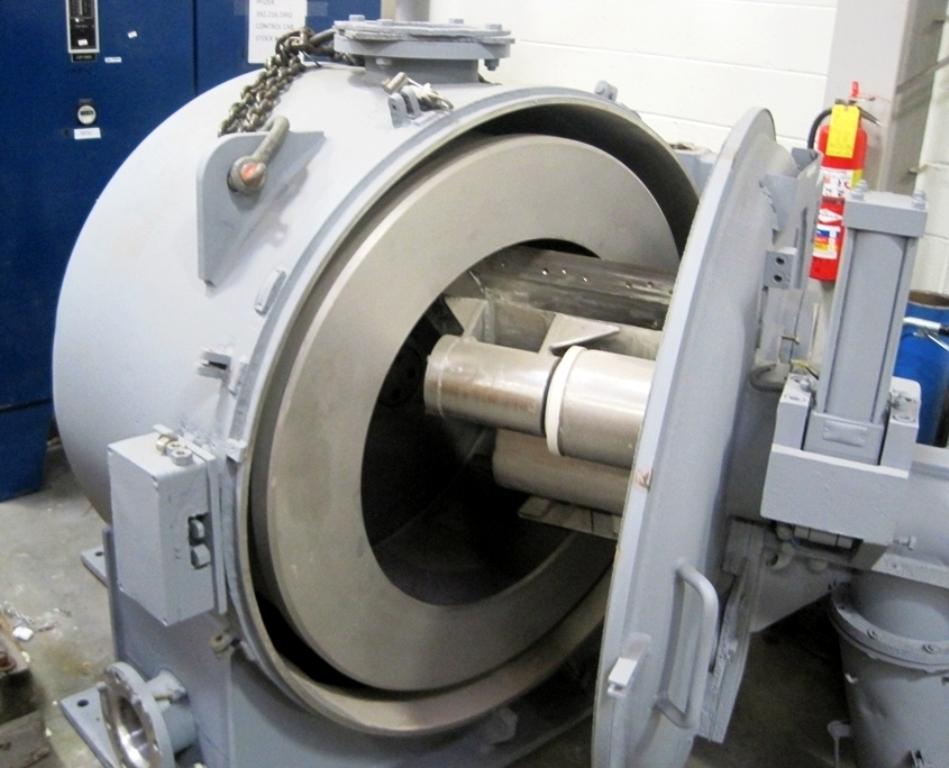 Ellerwerk 937H peeler centrifuge, 316SS.
