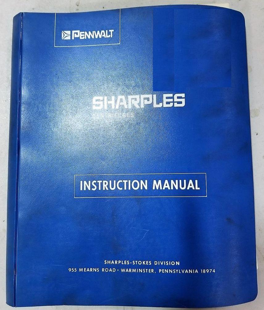 Sharples P3400 decanter centrifuge, 316SS.