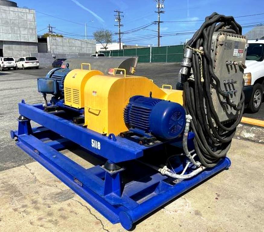 Centrisys CS18-3 decanter centrifuge, 316SS.