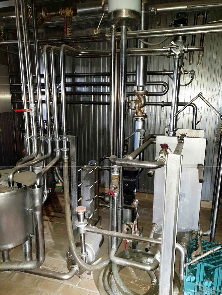 Westfalia MSD 50-01-076 CIP milk separator, 316SS.