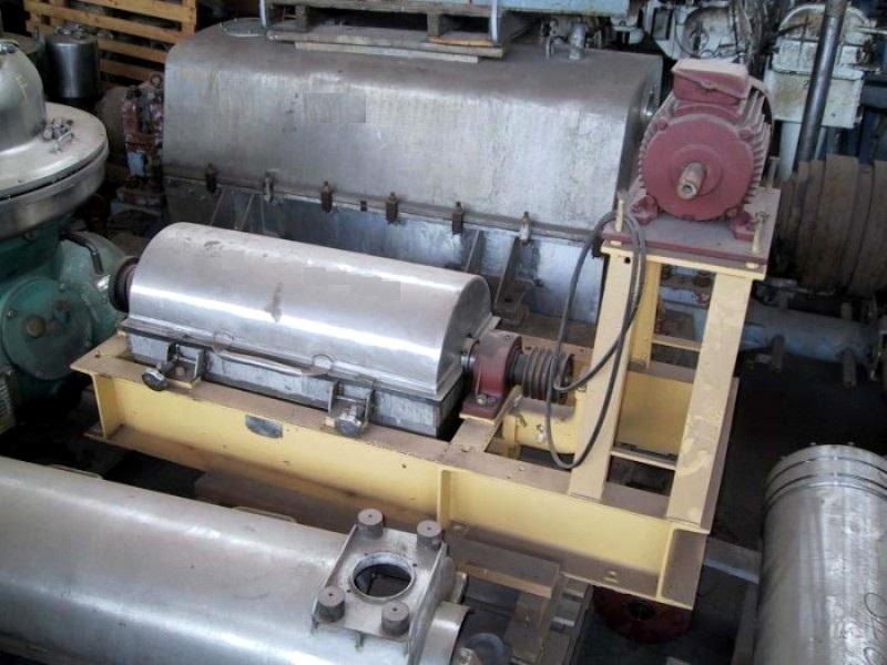 Alfa-Laval NX 214B-31G decanter centrifuge, 316SS.