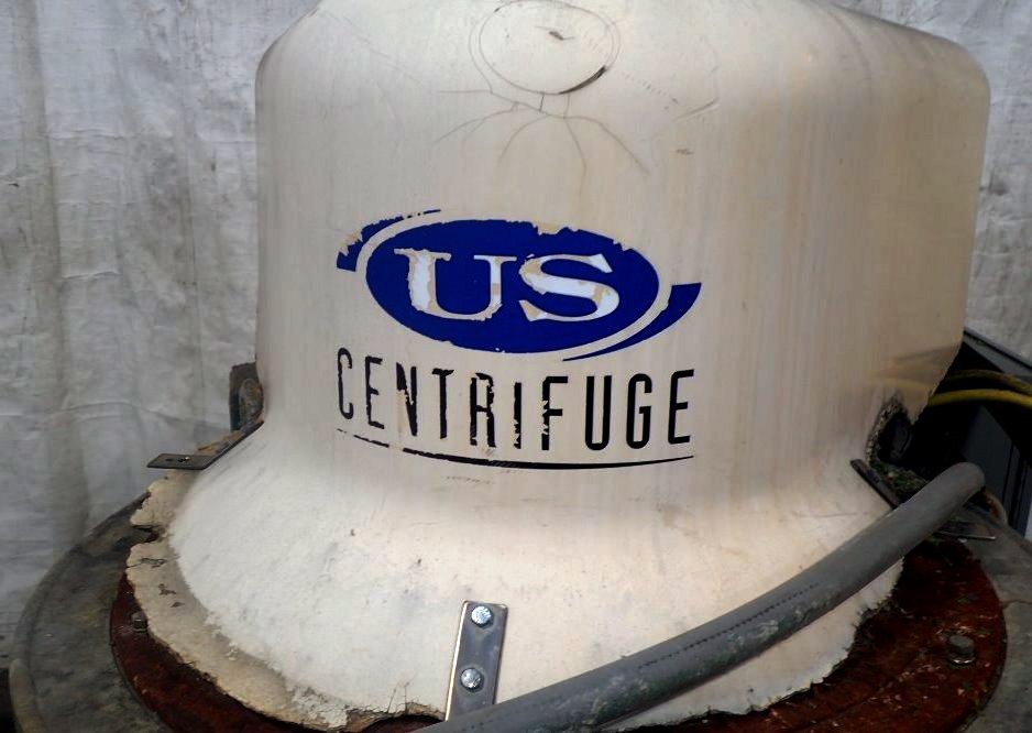 U.S. Centrifuge A242 self-cleaning basket centrifuge.