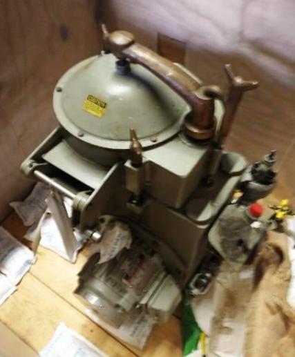 De Laval Unimatic N65 oil purifier, SS.