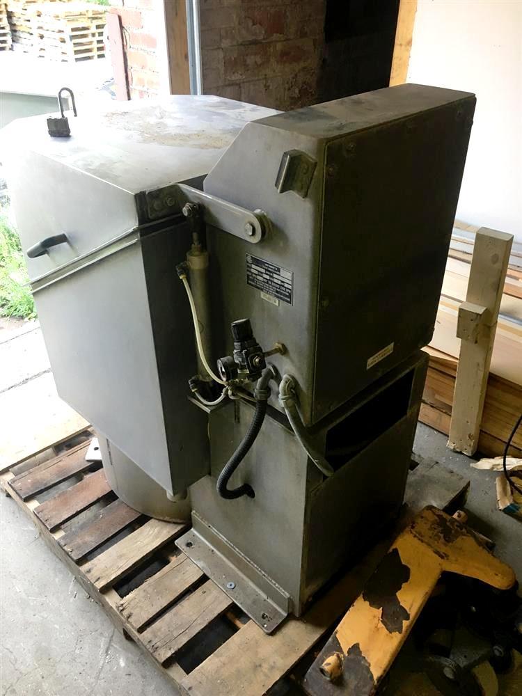 Bock FP-35 20 x 12 perforate basket centrifuge, 316SS.
