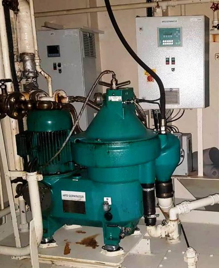 Westfalia OSE 20-0136-067/20 fuel oil purifier, SS.