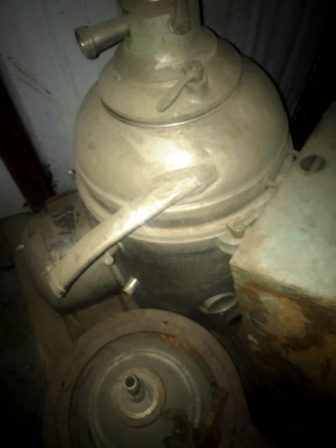 Westfalia MM 5004 warm milk separator, 316SS.