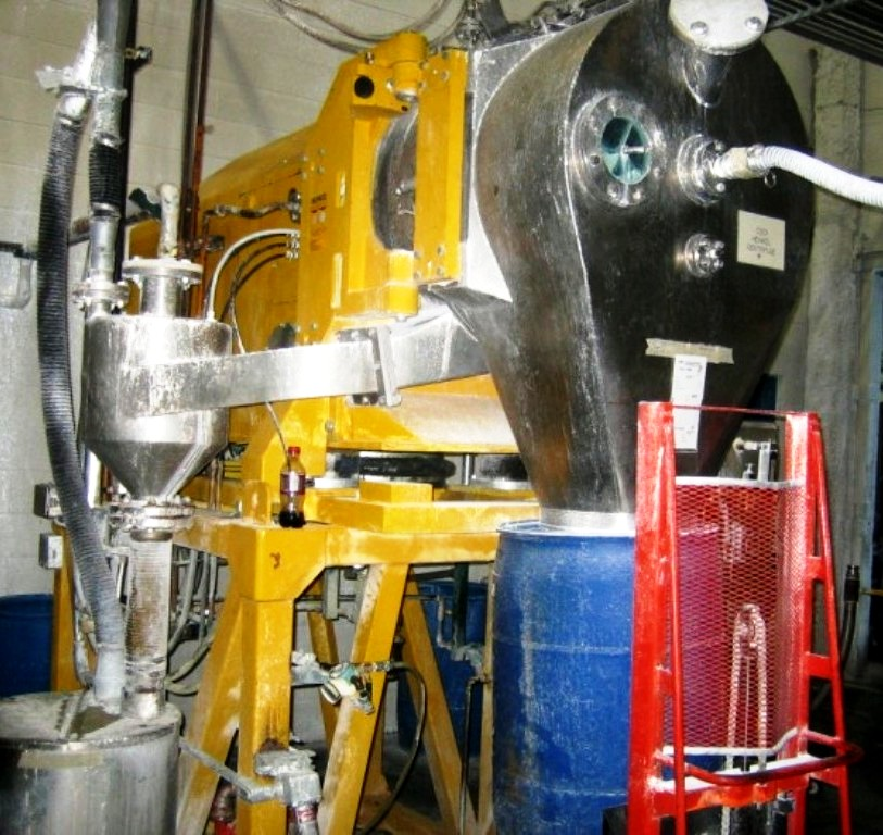 Heinkel HF 600 Inverting Filter centrifuge, 316SS.