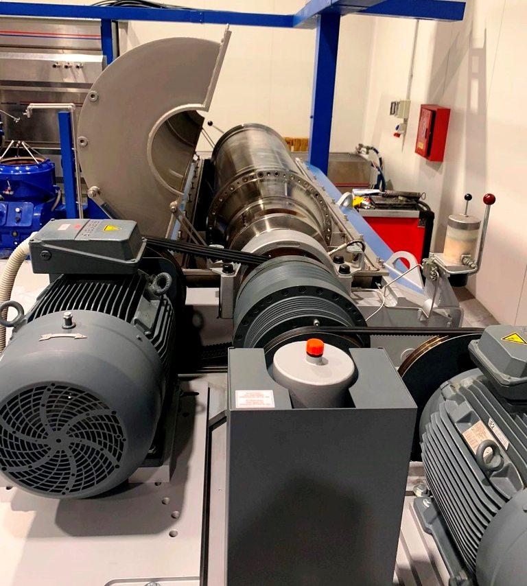 Flottweg Z5E-4/404 sanitary decanter centrifuge, 316SS.