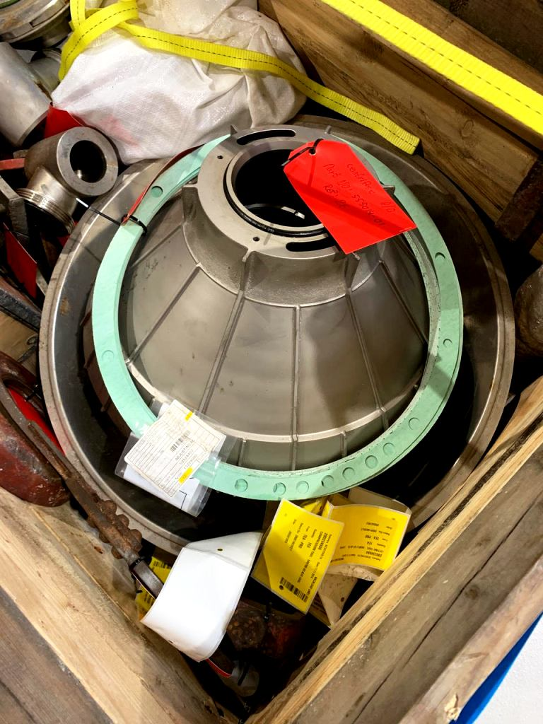 Alfa-Laval OFPX 517 TGV-75CGRX concentrator, 316SS.