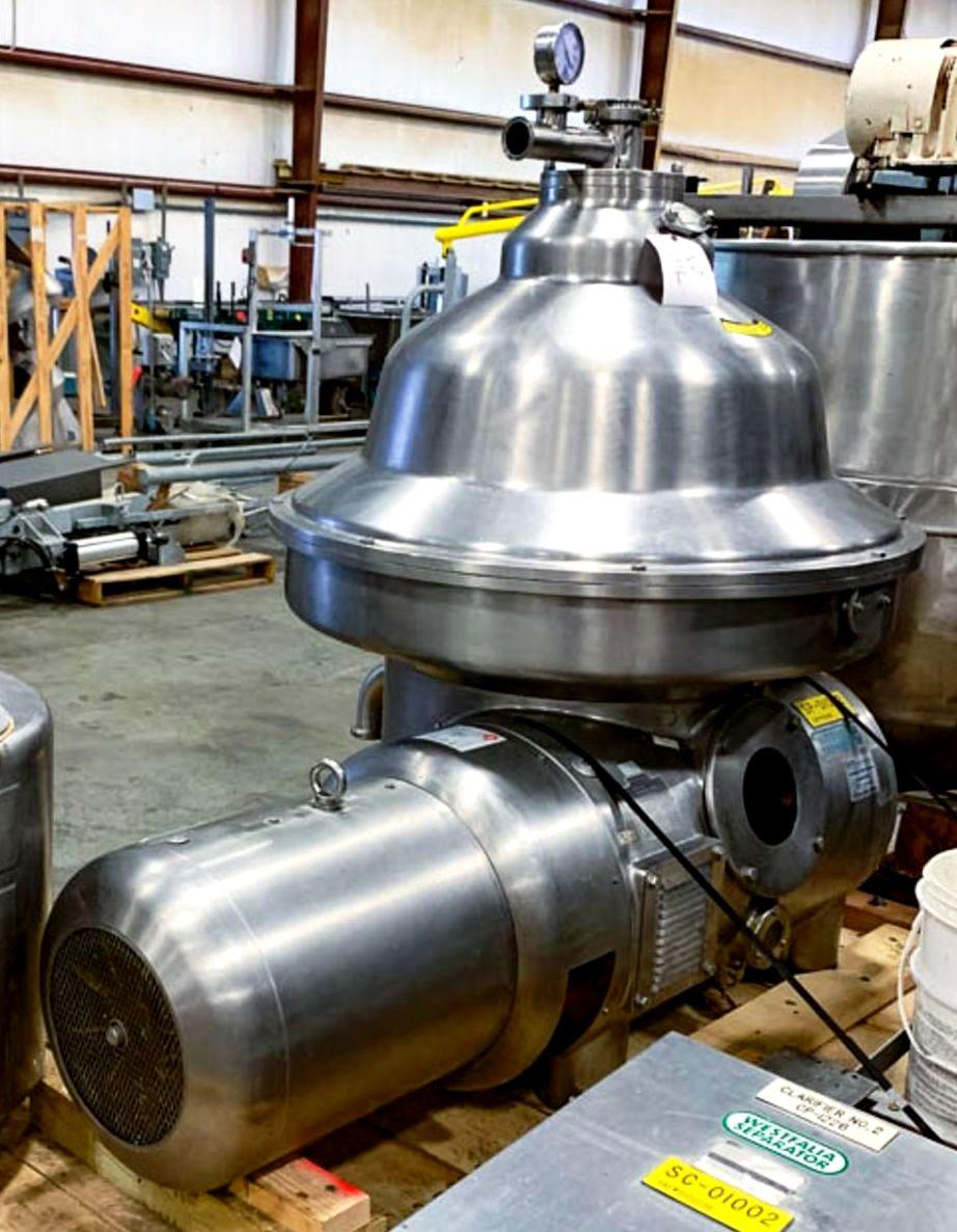 Westfalia MSA 85-06-076 milk clarifier, 316SS.