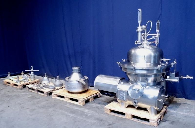 Westfalia SAMM 12006 milk separator, 316SS.