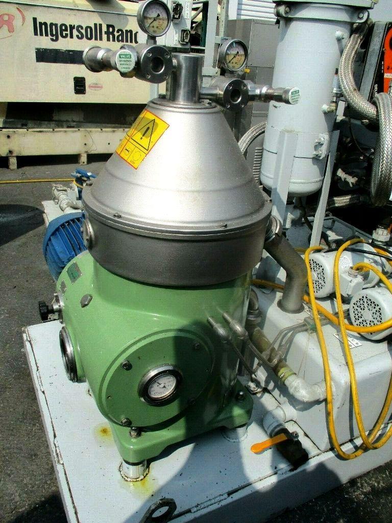 Seital SE-122 WCV clarifier on SRS SR-1020 module, 304SS.