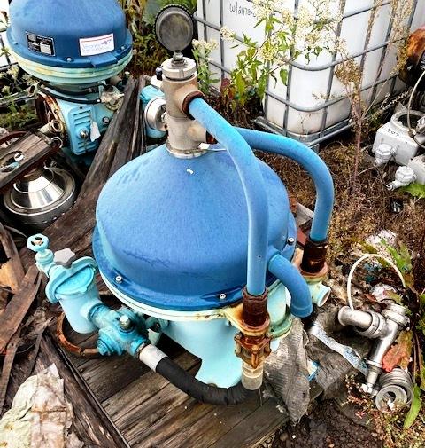 (2) Veronesi BSGEB 300 lube oil purifiers, SS.