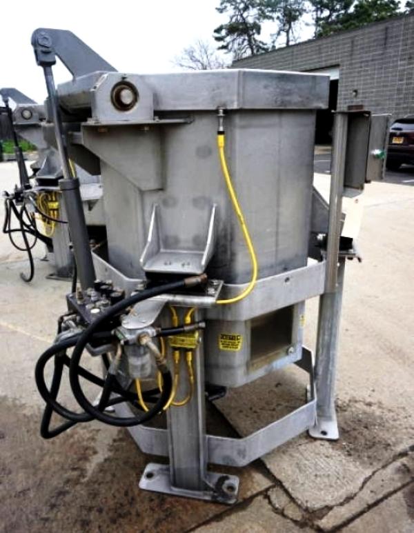 (3) Heinzen SD-300 30 x 36 lettuce spin dryers, SS.