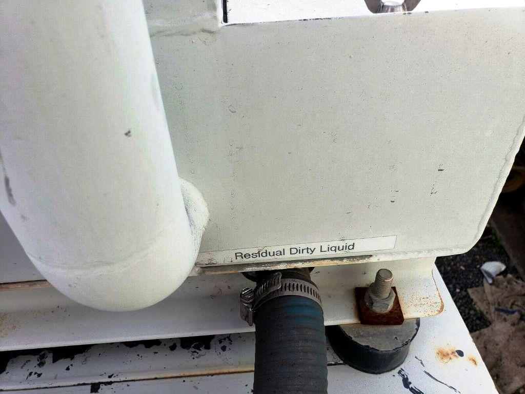 Microseparator CF-65G2 coolant clarifier, 304SS.