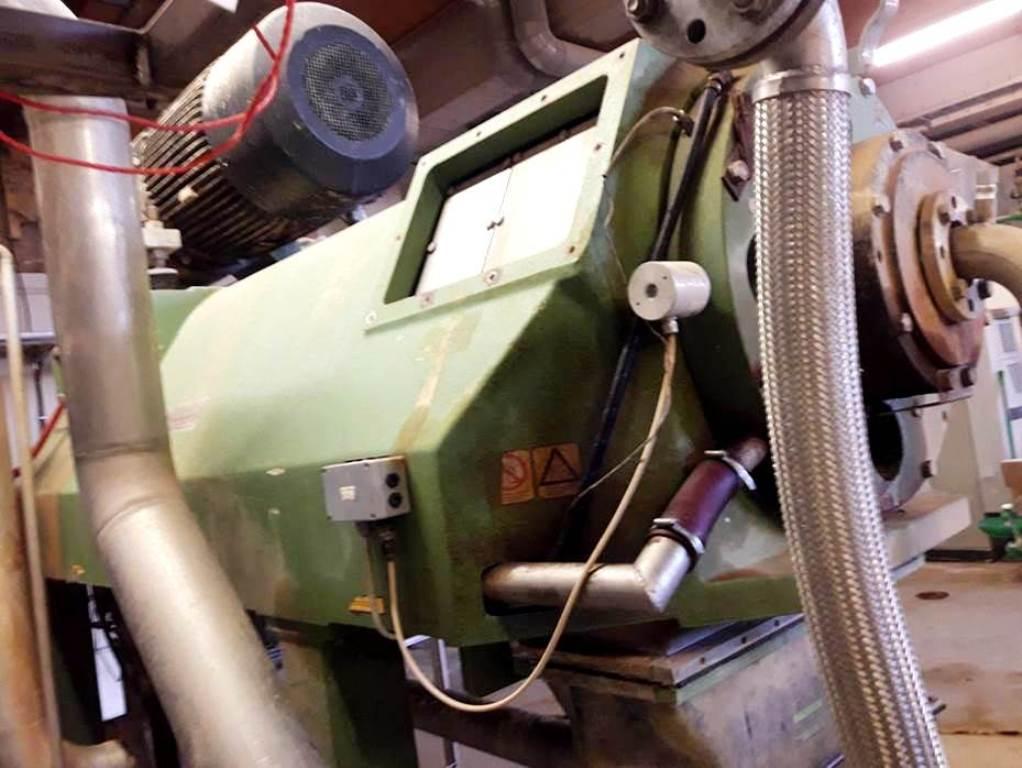 Westfalia CB 505-00-32 decanter centrifuge, 316SS.