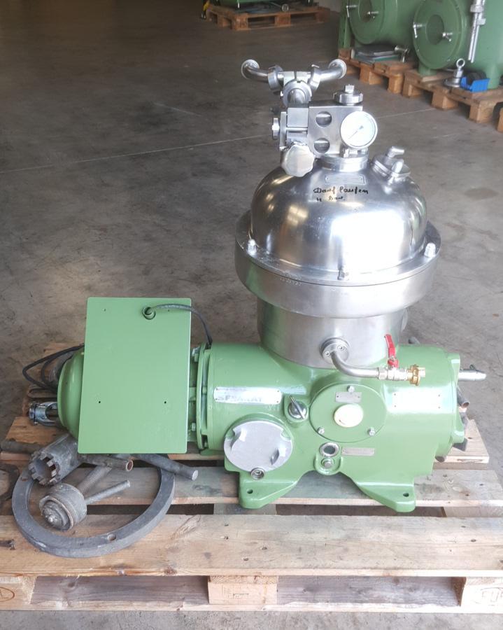 Westfalia SA 7-06-076 clarifier centrifuge, 316SS.