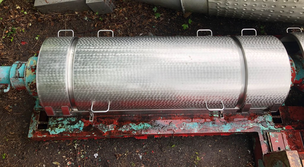 """Kruger 250 (16 x 42"""") decanter centrifuge, SS."""