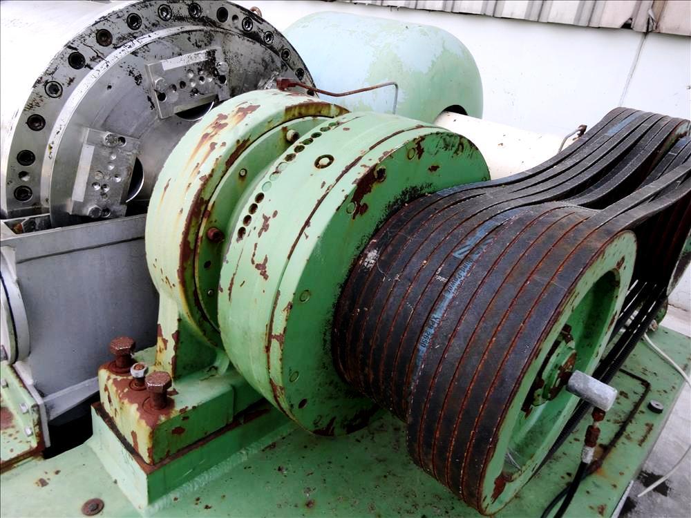 Flottweg Z5L decanter centrifuge, 316SS.