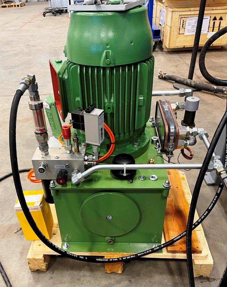 Flottweg Z23-4/401 hybrid decanter centrifuge, 316SS.
